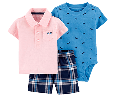 3-Piece Polo Little Short Set | CGW Cyber Monday 2020