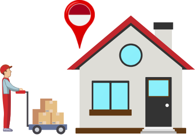 Send your packages home in as fast as 3 business days. Our online tracking gives you status updates as your shipment speeds through the US and arrives in Indonesia.