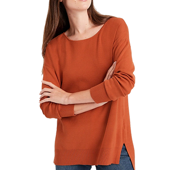 Relaxed Sweater Tunic